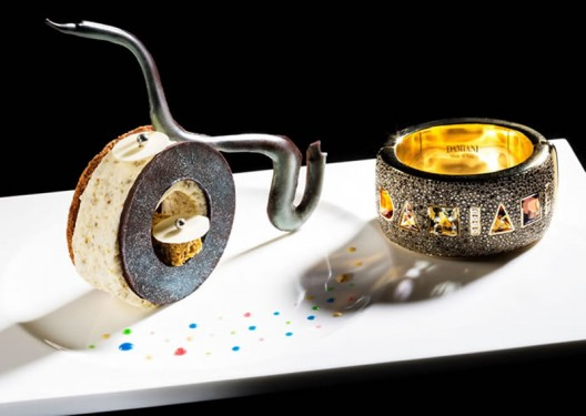 Edible jewelry – The Ritz-Carlton, Hong Kong to offer a five-course jewelry inspired dinner menu for Damiani's 90th anniversary celebration