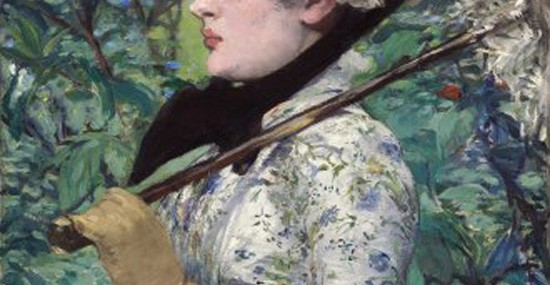 Edouard Manet ''Spring'' Portrait At Christie's Auctions