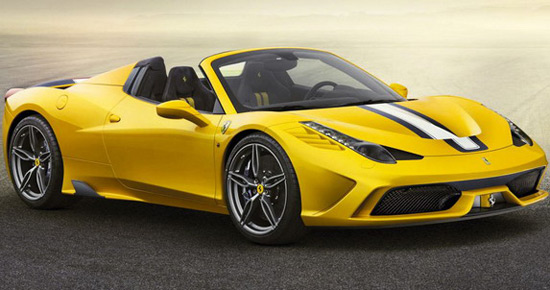 "458 Speciale A (A for ""Aperta"" - ""open"" in Italian)"