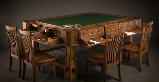 Luxury Geek Chic Table For Gamers