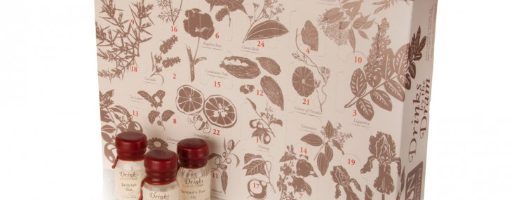 The Ginvent Calendar 2014 Filled With the World's Finest Gins