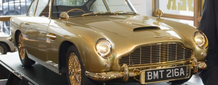 Gold-Plated Aston Martin DB5 Model at Christie's Charity Auction