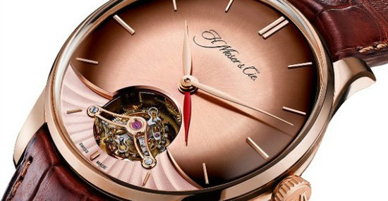 Venturer Tourbillon Dual Time by H. Moser & Cie
