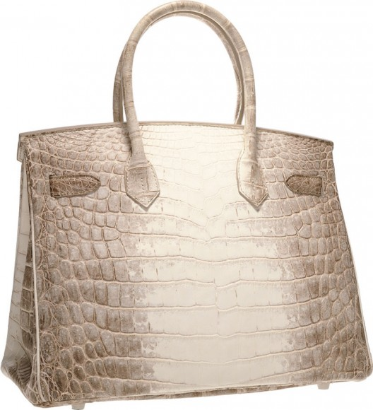 Hermes Diamond Himalayan Birkin Could Break Auction Record