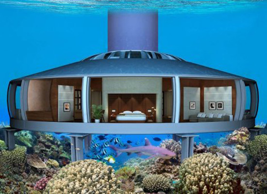 Luxury Home On The Bottom Of The Sea