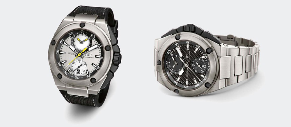 IWC Schaffhausen Nico Rosberg And Lewis Hamilton Limited Edition Watches