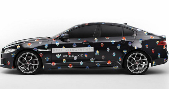 Jaguar FEEL XE Experience By Stella McCartney