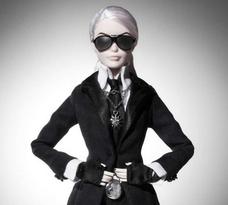 Karl Lagerfeld Barbie Coming Soon