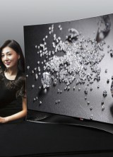 LG Curved OLED TV With Swarovski Chic