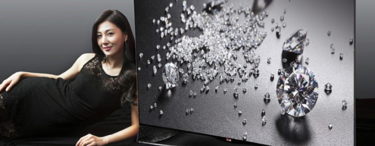 It's all about bling; LG's Swarovski-encrusted curved OLED TV to be showcased at IFA 2014