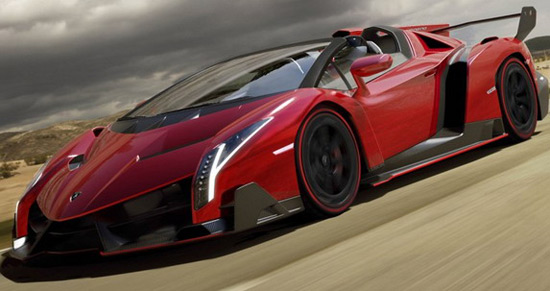 Lamborghini Veneno Roadster At A Price Of $7.4 Million