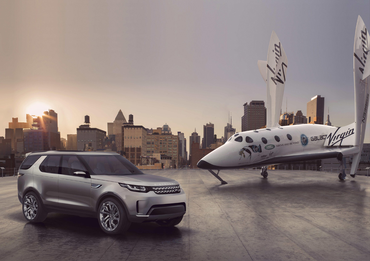 Buy A Land Rover And Win A Trip To Space