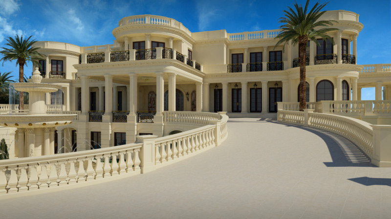 $139 Million Le Palais Royal - Most Expensive Palace in the U.S.,
