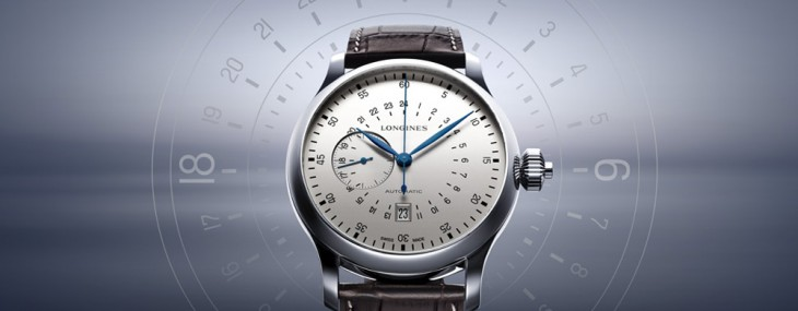 Longines Twenty Four Hours Single Push Piece Chronograph Watch