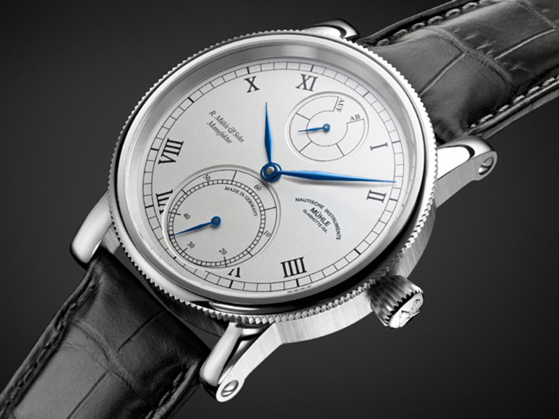 Mühle-Glashütte Robert Mühle Auf/Ab Limited Edition Watch