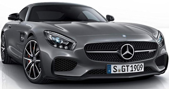 Mercedes labeled Edition 1 is a special version of their new models