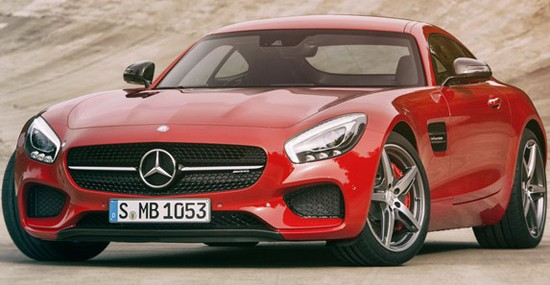 New Mercedes AMG GT