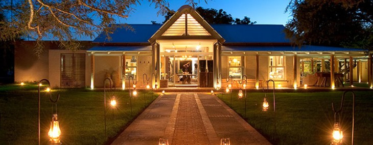 Morukuru Farm House in Madikwe Game Reserve