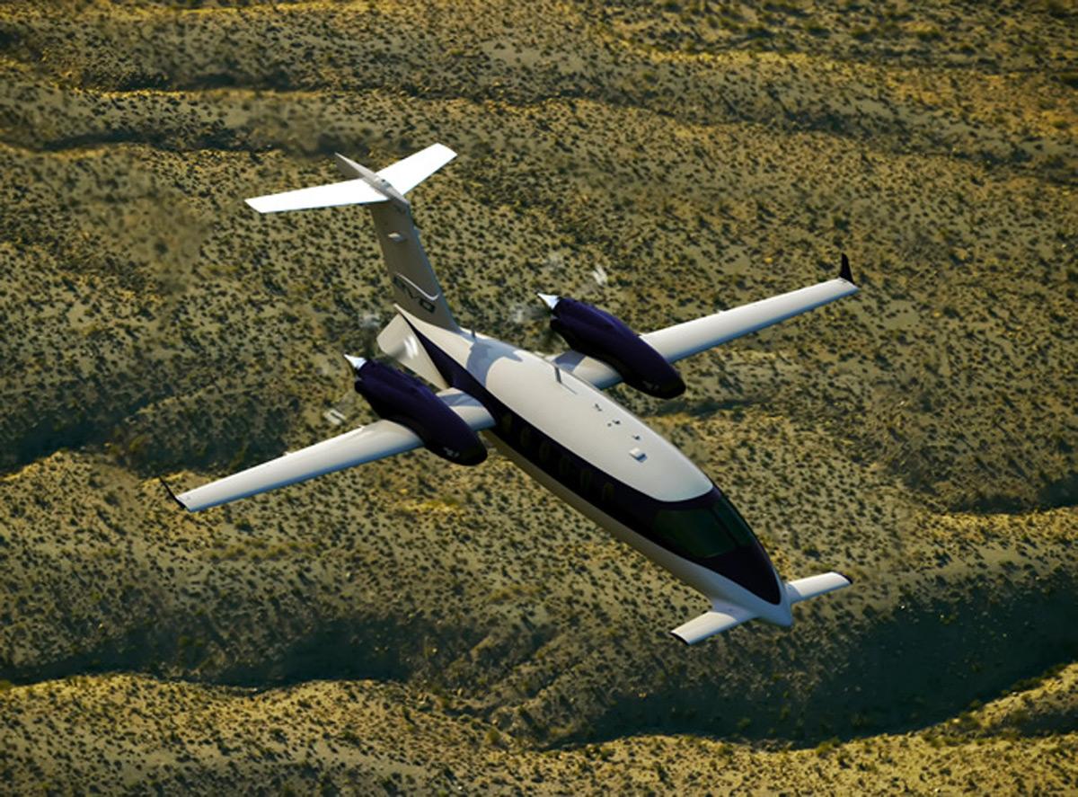 Piaggio's Avanti EVO Twin-turbo Prop Aircraft