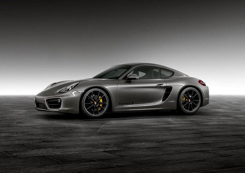 Porsche Exlusive Agate Grey Cayman S