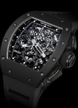 "Richard Mille's RM 011 Automatic Flyback Chronograph ""Black Phantom"""