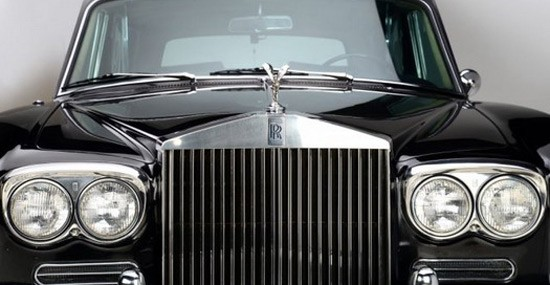 Black Rolls-Royce Owned By Johnny Cash On Auction