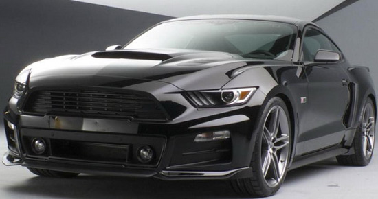Roush has prepared a modified version of the new generation of the Ford Mustang