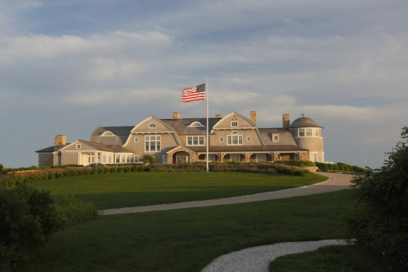 Seafront Estate at the tip of Mishaum Point on Sale for $25 Million