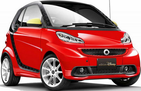Smart ForTwo Electric Drive Disney Edition