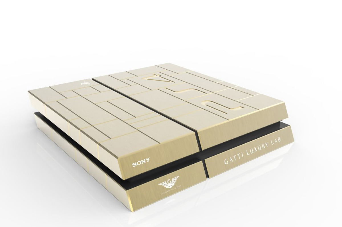 Buy Solid-Gold Xbox Ones Or PS4s For $13,700