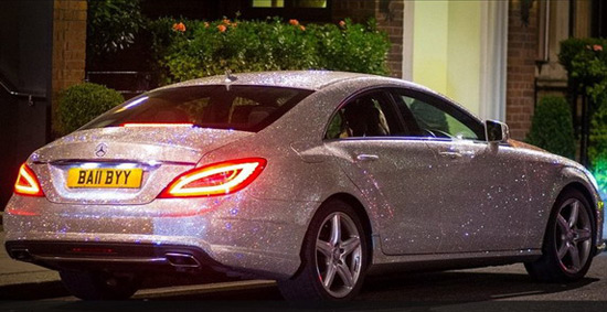 Mercedes CLS With Swarovski Crystals