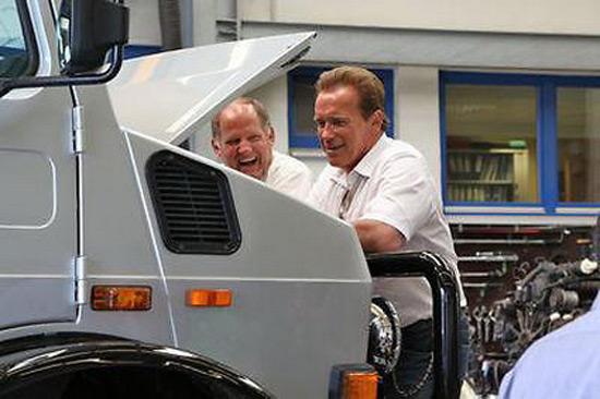 Unimog U1300 SE 6.4 Specially Modified For Arnold Schwarzenegger On Sale
