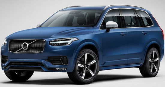 New Volvo XC90 With R-Design Package