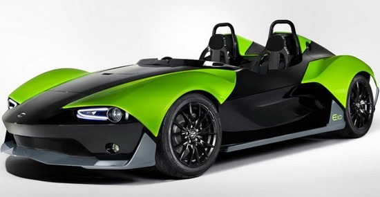 British Zenos Cars Presented E10 S Roadster