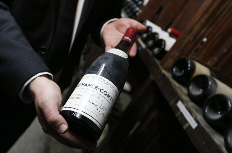 $1,6 Million Romanee-Conti Bottles Set New World Record at Sotheby's