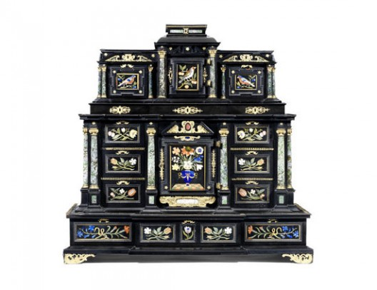 17th Century Kunstkammer Cabinet at Bonhams Auction