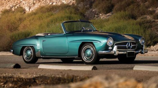 1961 Mercedes-Benz 190SL Roadster at Auctions America