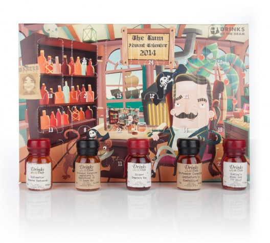 Drinks by the Dram Launches Four Advent Calendars for 2014
