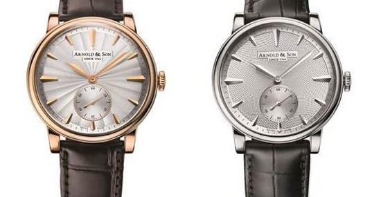 The Royal Collection from Arnold & Son which includes the new HMS1 Dragon in 18K Rose Gold was introduced