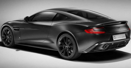 Q By Aston Martin Vanquish Satin Jet Black