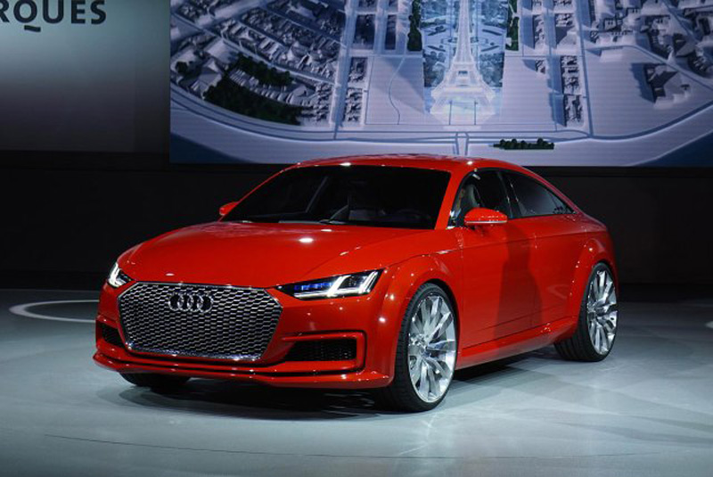 Four-Doors Audi TT In Sportback Version