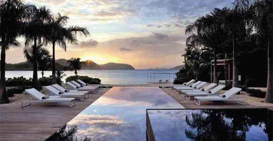 $19 Million Beachfront Villa on the Lorient Bay, in St. Barths