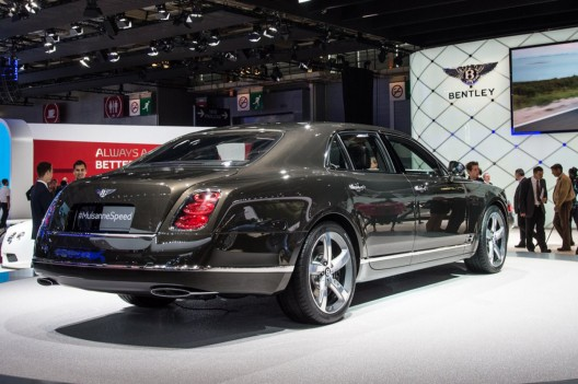 Bentley Brings Speed To Paris With New Flagship Mulsanne