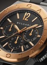 Bvlgari Diagono Ultranero Chronograph Collection