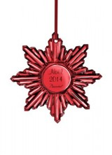 """Baccarat """"Christmas in Red"""" for 250th Anniversary"""