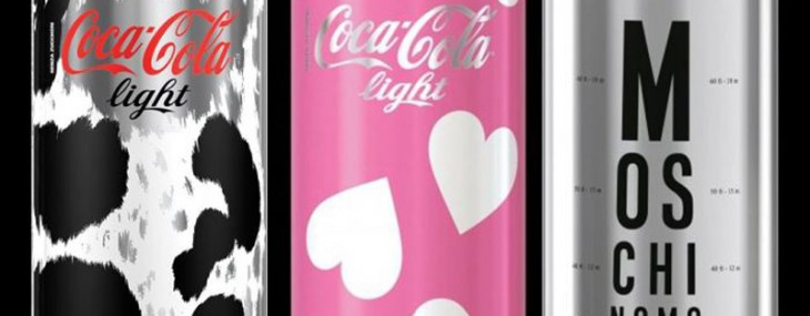Coca-Cola Light Loves Moschino – A Special Edition Just For Italy