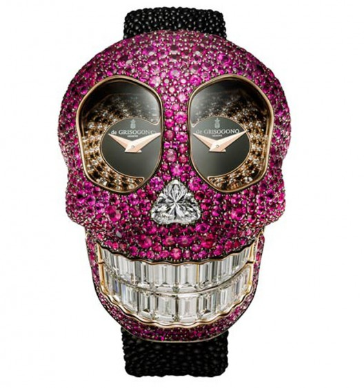 De Grisogono's Crazy Skull watch is the most opulent Halloween accessory you can buy