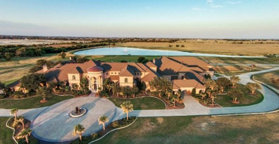 Dallas Estate Owned by NFL Great Deion Sanders Goes Under the Hammer