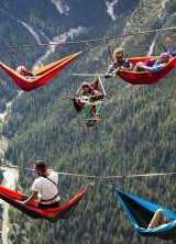 Would You Sleep In These Hammocks Suspended Hundreds Of Feet Above The Ground?