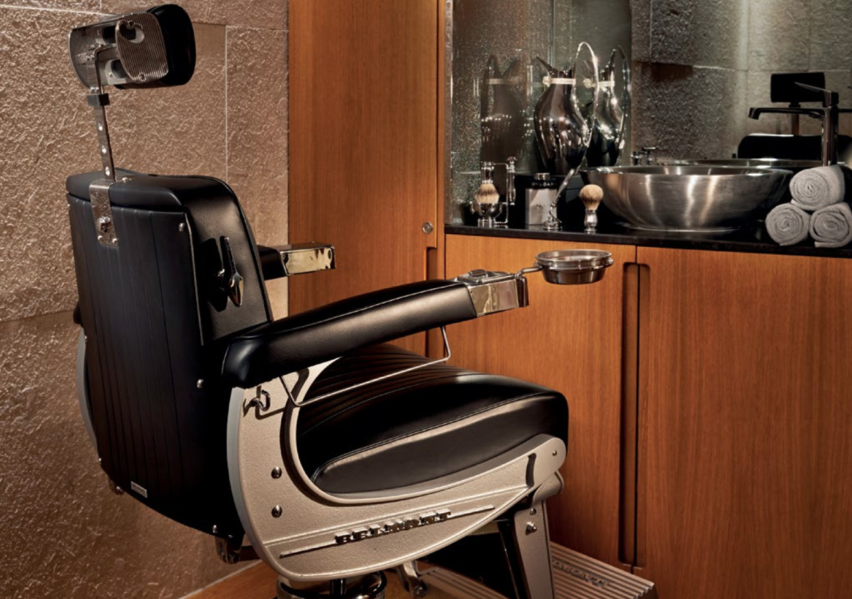 Gentlemen's Grooming Nirvana at London's Bulgari Hotel and Spa